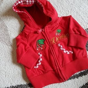 Dereon Red Cherry Hoodie